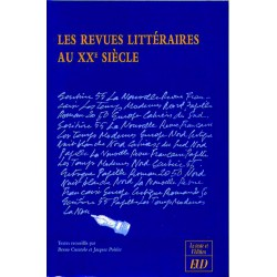 Les Revues littéraires au XXe siècle