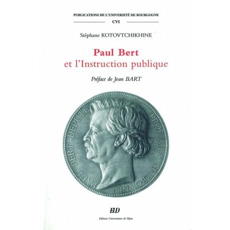 Paul Bert et l'Instruction publique