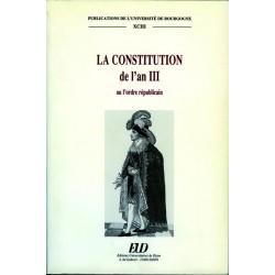 La Constitution de l'an III ou l'ordre républicain