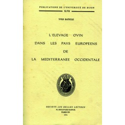L'élevage ovin dans les pays européens de la méditerranée occidentale