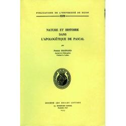 Nature et histoire dans l'apologétique de Pascal