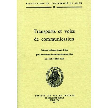 Transports et voie de communication