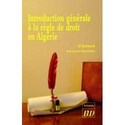 Introduction générale à la règle de droit en Algérie