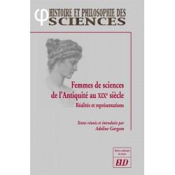 Femmes de sciences de l'Antiquité au XIXe siècle