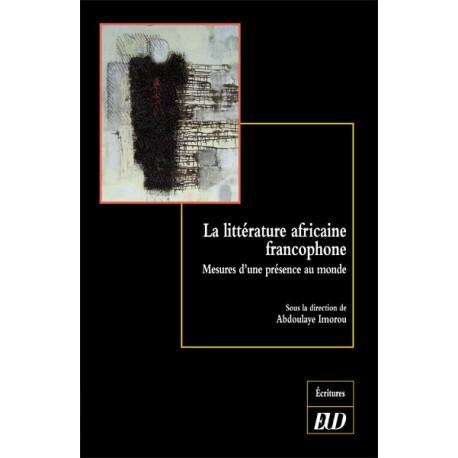 La littérature africaine francophone