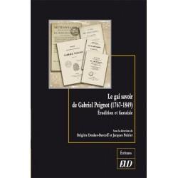 Le gai savoir de Gabriel Peignot (1767-1849)