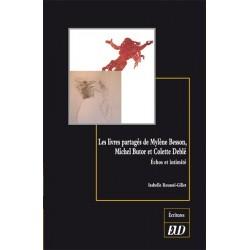 Les livres partagés de Mylène Besson, Michel Butor et Colette Deblé