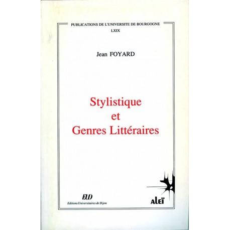 Stylistique et genres littéraires