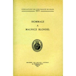 Hommage à Maurice Blondel