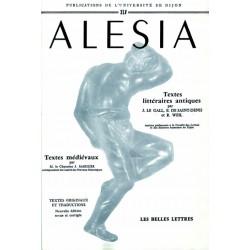 Alésia Textes littéraires antiques et textes médiévaux
