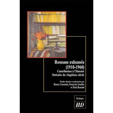 Romans exhumés (1910-1960)