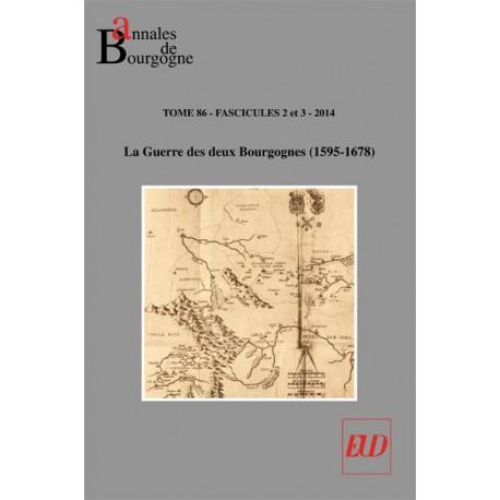 Annales de Bourgogne - Volume 86-2-3-2014