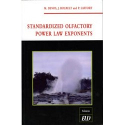 Standardized olfactory power law exponents