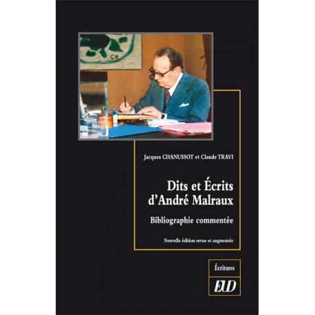 Dits et Écrits d'André Malraux