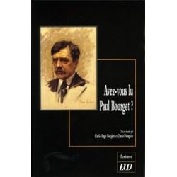 Avez-vous lu Paul Bourget ?