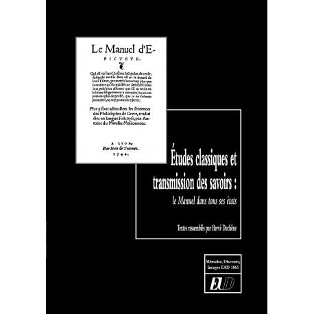Études classiques et transmissions des savoirs