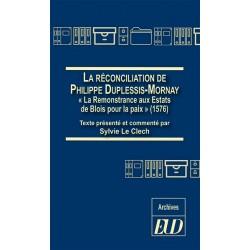La réconciliation de Philippe Duplessis-Mornay