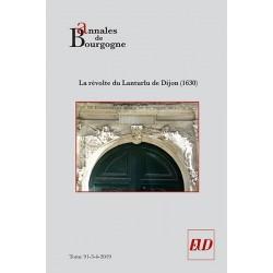 Annales de Bourgogne - 91-3-4-2019