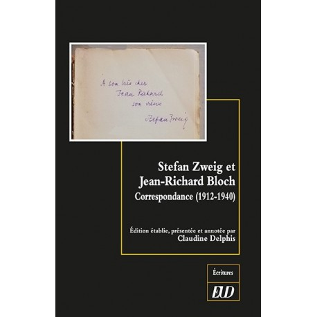 Stefan Zweig et Jean-Richard Bloch